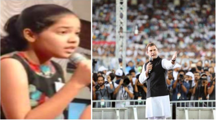 Rahul-Gandhi-dumbfounded-in-Dubai-by-little-girl's-questions-is-fake-news