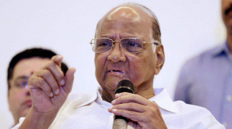 NCP chief Sharad Pawar will not contest Lok Sabha elections